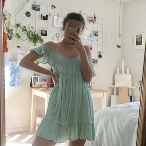 Light Teal Sun Dress - Hurley